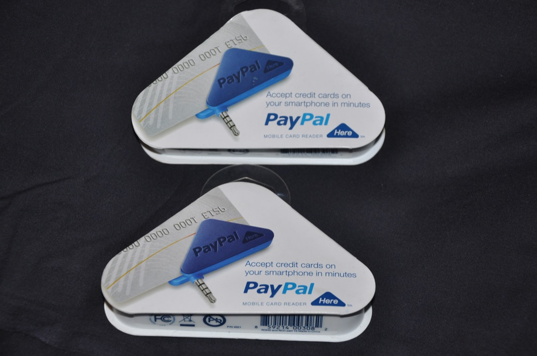 how to get a paypal here card reader